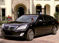 Hyundai Equus Security