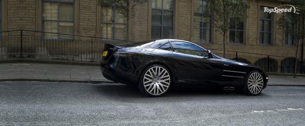 Mercedes SLR McLaren от тюнинг ателье Project Kahn