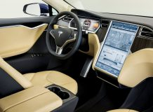 Салон Тесла S фото