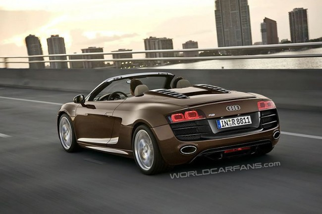 Во Франкфурте дебютирует Audi R8 Spyder