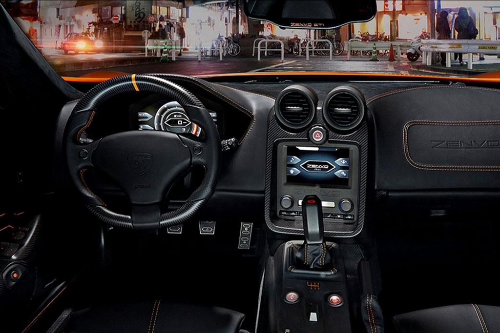Zenvo ST1 фото салона