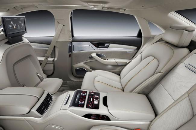 Интерьер Audi A8 L