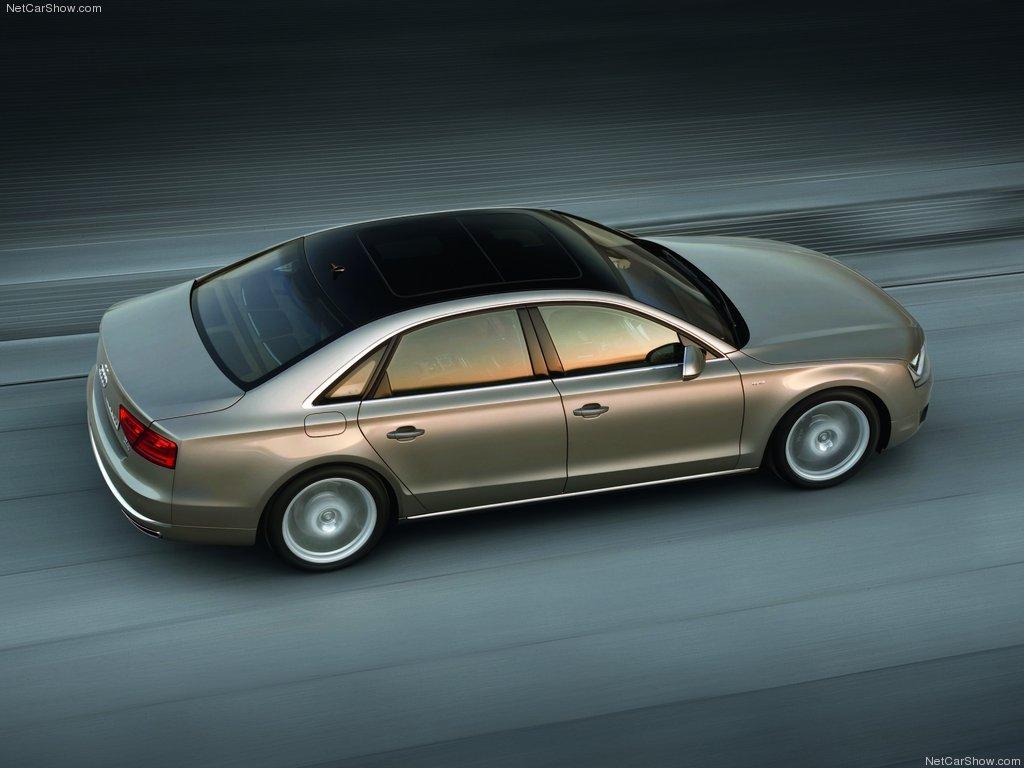 Audi A8 long фото