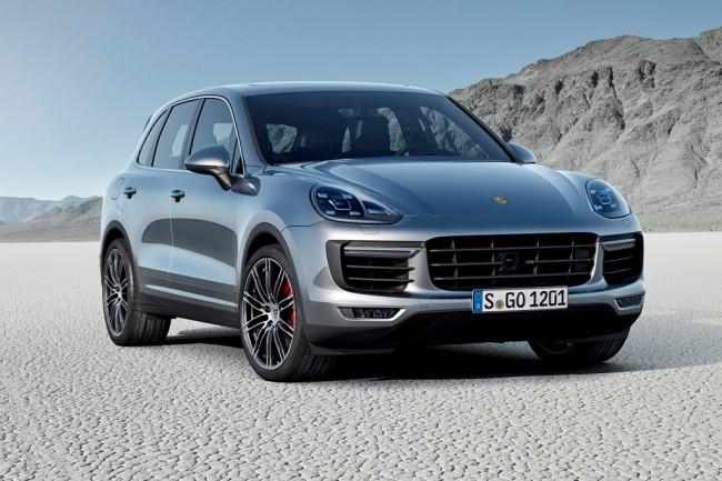 Обновленный Porsche Cayenne 2015
