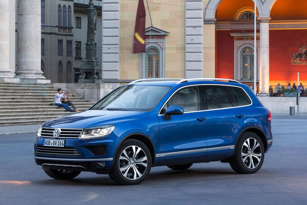 Volkswagen Touareg 2016 фото