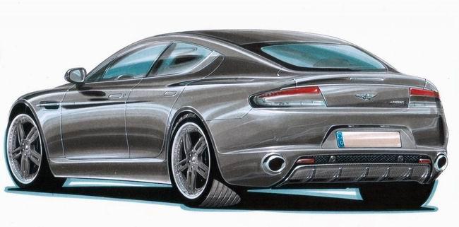 Cargraphic готовит тюнинг-пакет для Aston Martin Rapide