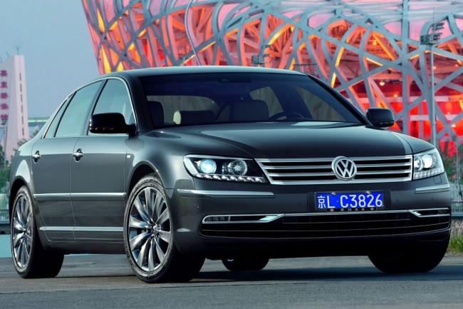 Большой седан Volkswagen Phaeton