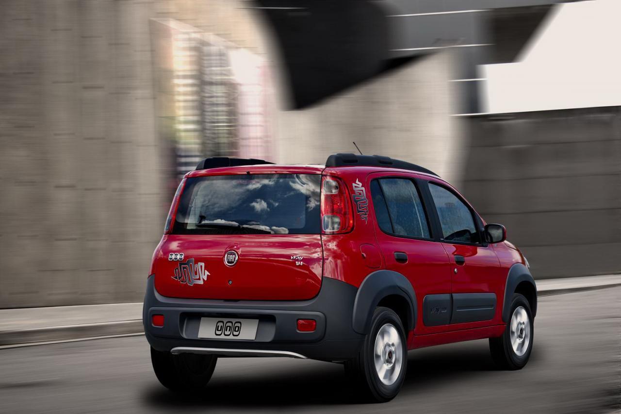 Фото нового Fiat Uno