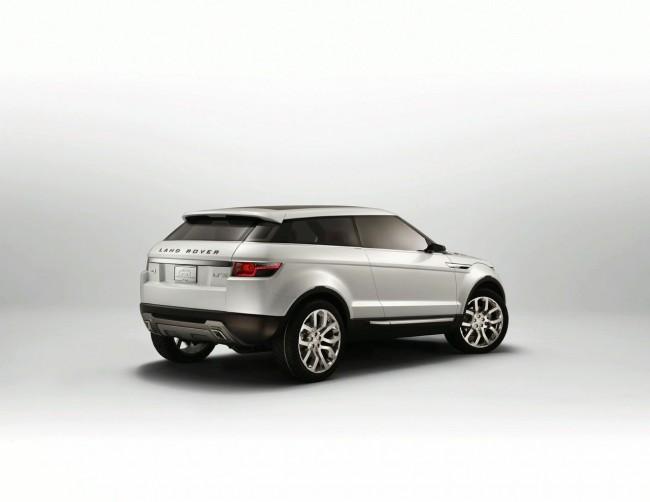 Концепт-кар Land Rover LRX