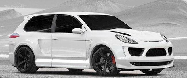 Двухдверный Porsche Cayenne от ателье Merdad