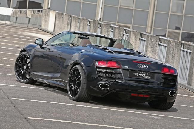 Тюнинговая Galactic Audi R8 Spyder от ателье Sport Wheels
