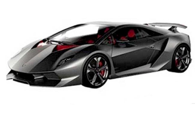Компьютерное изображение Lamborghini Sesto Elemento Concept
