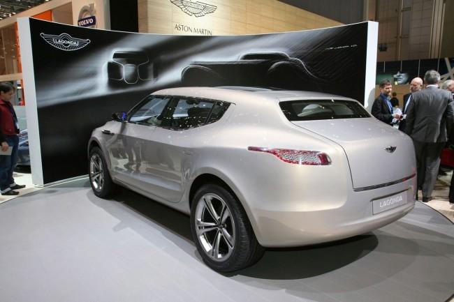 Проект внедорожника Aston Martin Lagona будет возрожден