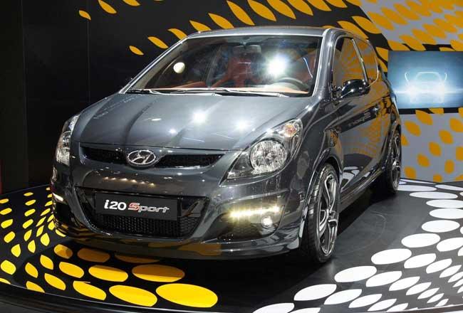 Фото горячего Hyundai i20 Sport Edition