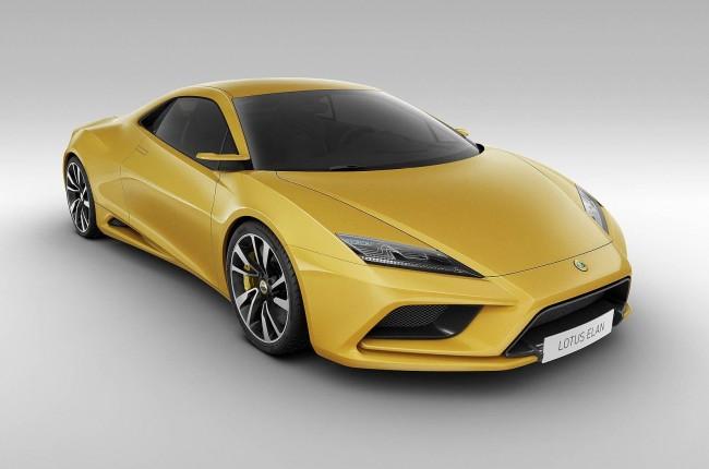 Lotus возрождает модель Elan