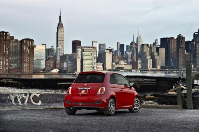 Fiat возвращается в Штаты с моделью 500