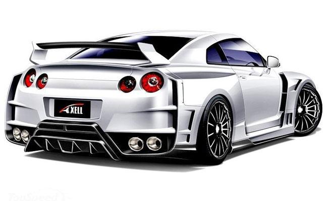 В Токио Axell Auto представят тюнинговый Ниссан ГТР
