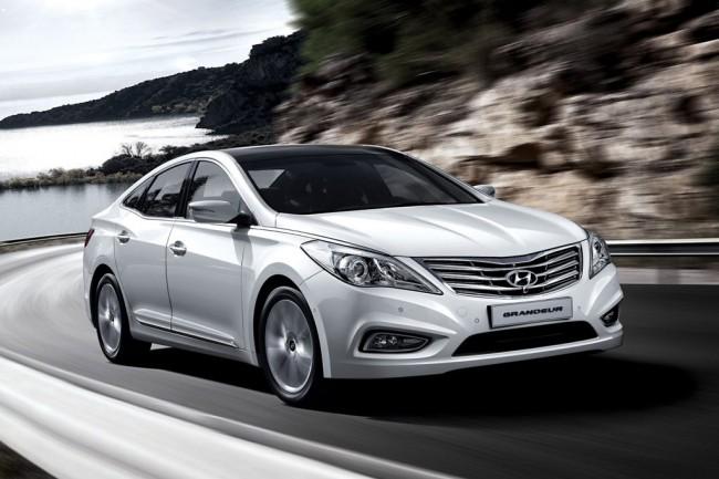 Фото нового Hyundai Grandeur (HG)