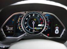 Панель приборов Lamborghini Aventador фото