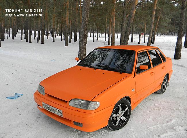 Матовая Lada 2115 фото