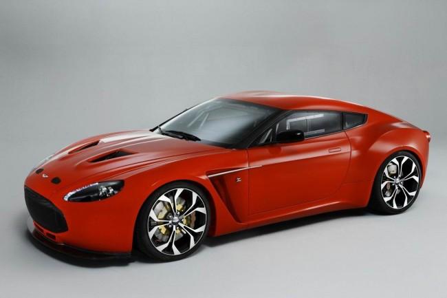 Aston Matrin и Zagato создали спортивное купе