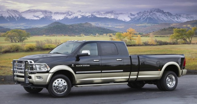 Dodge представил пикап Ram Long-Hauler Concept