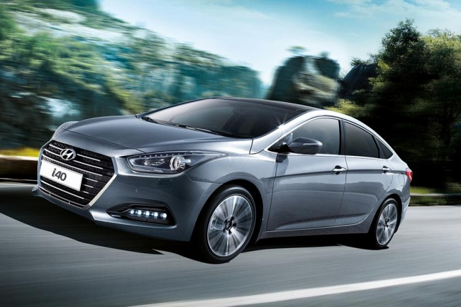 Обновленный Hyundai i40 2015