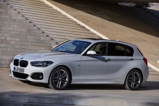 Обновленная BMW 1-Series 2016