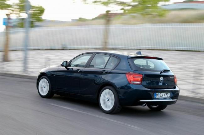 5-дверный хэтчбек BMW 1-серии F20