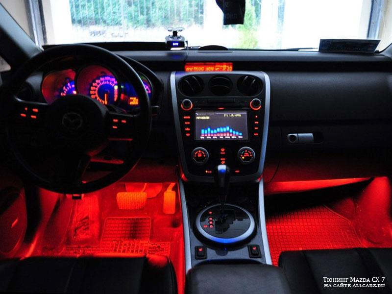 Тюнинг салона Mazda CX-7
