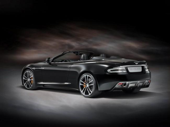 Aston Martin DBS получил спецверсию Carbon Editon