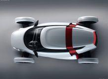Электромобиль Audi Urban вид сверху