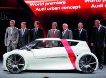 Audi Urban Concept и его создатели