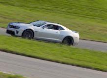 Испытания Camaro ZL1 на треке