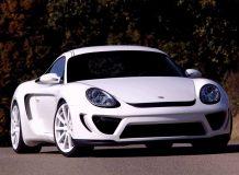 Обвес для Porsche Cayman R от Delavilla