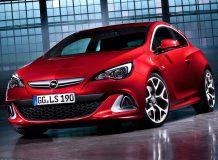 Фото нового Opel Astra OPC 2015