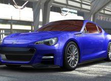 Рендер нового купе Subaru BRZ STi Concept