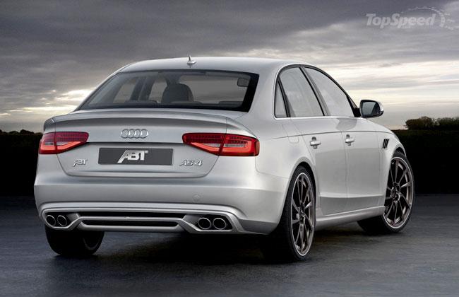 Обвес для новой Audi S4 2012 от ABT