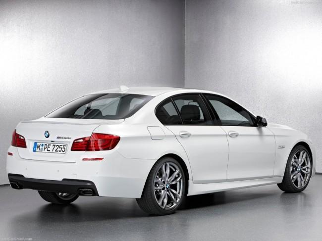 Дизельный седан BMW M550d