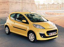 Новый Peugeot 107 фото