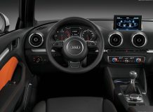 Салон новой Audi A3 (8V)
