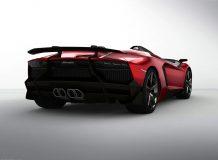 Lamborghini представила Aventador J