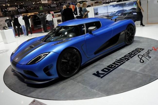 В Женеву привезли обновленный Koenigsegg Agera R
