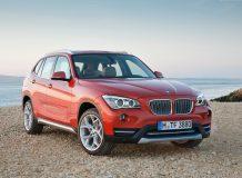 Обновленный BMW X1 2013 фото