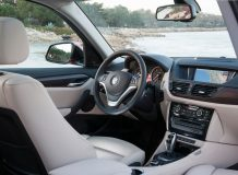 BMW X1 интерьер