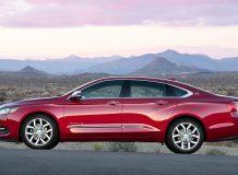 Новый Chevrolet Impala 2014 фото