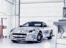 Фото предсерийного Jaguar F-Type