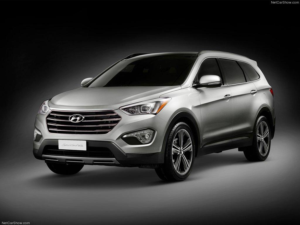 7-местный Hyundai Santa Fe 3
