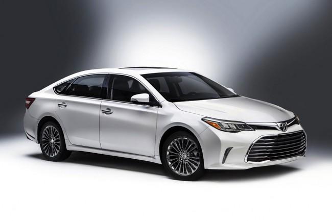 Обновленная Toyota Avalon 2016