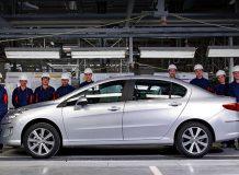 В Калуге стартовал выпуск седанов Peugeot 408